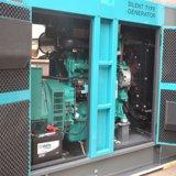マラソンの交流発電機が付いているデトロイトエンジン8kVAの無声ディーゼル発電機