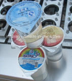 Máquina de embalagem de enchimento da selagem do copo dos líquidos do queijo da geléia