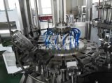 유리병은 번쩍이는 음료 충전물 기계를 탄화시켰다