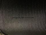 Diámetro de la cuerda de alambre de acero del elevador 8*19s+FC: 12m m