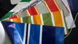 Printing Pattern (SGS、OEM、COC)の普及したPVC Tarpaulin