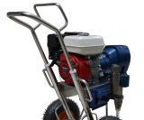 Leistungsfähiges Benzin-Motor-großes Fluss-Farbanstrich-Gerät