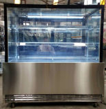 Kuchen Showcase mit Rechtem-Angle Glass Door für Cake Snack Display in Bakery Shop