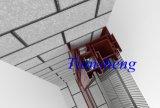 Fenêtre en aluminium à double vitrage à économie d'énergie