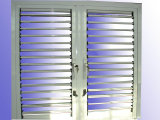 Fenêtre à rideaux d'aluminium à rideaux d'aluminium