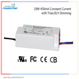 5 ans de garantie 19W 450mA Constant Triac Current / Elv Dimmable LED Driver