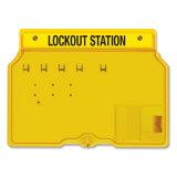 Station de verrouillage de sûreté et de degré de sécurité de cadenas d'environnement