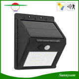 6개 LED IP65는 무선 인간적인 운동 측정기 정원 빛 옥외 태양 PIR 센서 벽 빛을 방수 처리한다