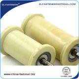 Rullo di guida di plastica di nylon del nastro trasportatore della prova della ruggine