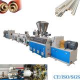 Linha de produção da extrusão da tubulação do cabo do PVC