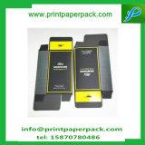 Cadre de empaquetage gravant en relief de luxe de carte de caisse d'emballage de Lipgloss cadre de papier d'entreposage en de cheveu cosmétique de cadre