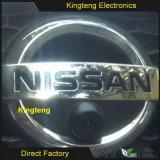 Colorer le CCD l'appareil-photo qu'avant de véhicule de logo pour Nissans X-Traînent Tiida Qashqai ensoleillé