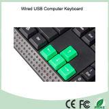 Простой дизайн Дешевые Тип клавиатуры компьютера из Китая фабрики