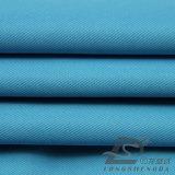 Agua y de la ropa de deportes tela tejida chaqueta al aire libre Viento-Resistente 100% de la pongis del poliester del telar jacquar de la tela cruzada abajo (53192)