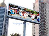Visualización de pantalla de alquiler publicitaria a todo color al aire libre de P6 SMD LED