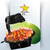 Решетка электрической индукции 3D BBQ затавренная решеткой ультракрасная (ZJLY)