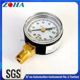 Medidor normal da pressão com amplitude da pressão 160 libras por polegada quadrada