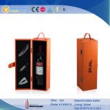 Portafili di cuoio del vino del regalo dell'unità di elaborazione (1349)