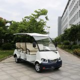 CE 8 accoglienti Seats 4kw Electric Touring Bus per Resort (DN-8)