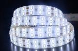 Streifen-Beleuchtung des Weiß-5730 LED mit hohem Lumen gießen
