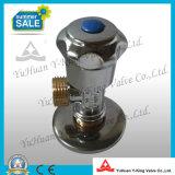 Soupape d'arrêt en laiton de cornière de l'eau de salle de bains (YD-B5021)
