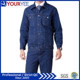 Terno uniforme da alta qualidade disponível das calças de brim do Workwear (YMU123)