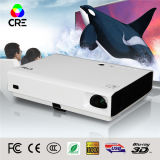 천연 3D Mini LED Projector DLP Technology High Brightness Projector
