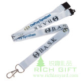 Dog Clip를 가진 2016 새로운 Design Heat Transfer Printing Starp Lanyard