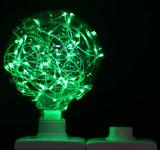 Bombilla estrellada colorida G95-25LED del LED para la decoración