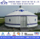 Grande barraca Mongolian de acampamento ao ar livre luxuosa de Yurt do evento de Ecotypic