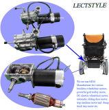 motor del sillón de ruedas de la potencia de la economía de 24V 250W y motor sin cepillo del sillón de ruedas con Foldawheel