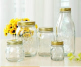 Stock 150ml 300ml 500ml Food Storage Glass Mason Jar