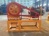 Machine concasseuse en pierre portative de mini de moteur diesel de mâchoire de broyeur d'affichage série de PE à vendre