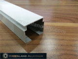 Head di alluminio Track per Vertical Blinds con Anodised White o Silver