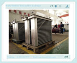 Wood Industry Drying를 위한 Water Heat Exchanger에 공기