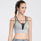 여자 테니스 스포츠 브래지어 체조는 적당 조끼를 착용한다