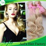 Extensión brasileña del pelo humano del pelo de la Virgen de Remy del estilo de la manera