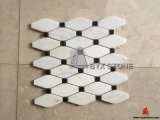 Verde/White/Grey/Black Marble Mosaics per Interior Wall Decoration