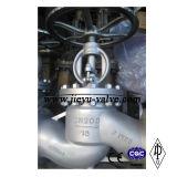 DIN Aço Carbono WCB / GS-C25 / Gp240gh / 1,0619 Válvula Globo Flange