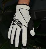 Guantes de la bicicleta del Lleno-Dedo, guantes respirables, guantes a prueba de choques