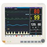 Video paziente portatile di multi parametro di 15 pollici