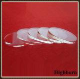 Glace optique circulaire claire de quartz de Jgs