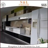 Alta cabina de cocina de los muebles del hogar de la laca del lustre con Blum Handware