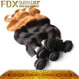 アフリカの美はもつれの自由なペルーのOmbreの毛を卸しで供給する