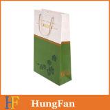 طازجة طباعة [توب قوليتي] تسوق ورقة هبة حقيبة مع حبل ذهبيّة