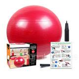 El ajuste Anti-Repartió la bola del ejercicio de la yoga con la base de la bomba y de la bola