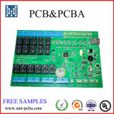 Um &PCB eletrônico do PWB Design&Components Sourscing do batente monta
