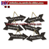 Halloweenの装飾のきらめきの気味悪い印のHalloween党供給(H8070)