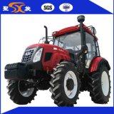 Hanwo 90-120HP 4WD 오두막을%s 가진 큰 농장 트랙터