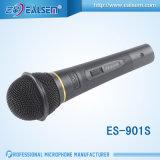 Microfoon van de Microfoon van de Draad KTV de Dynamische Audio Zwarte